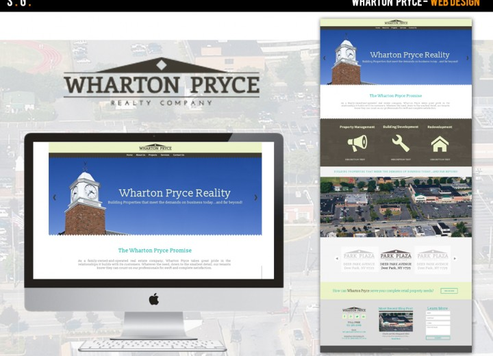Wharton Pryce Web Design (Created while at New Media Marketing)